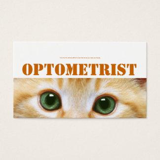 Katzenaugenkarte Visitenkarte