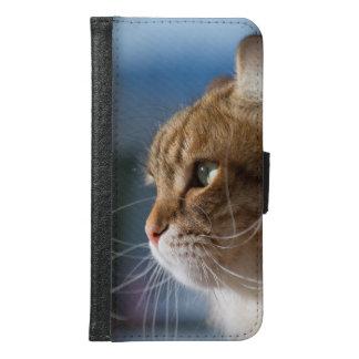 Katzenbärte in der Sonne Samsung Galaxy S6 Geldbeutel Hülle