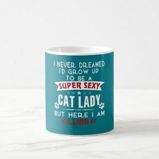 Katzendame Kaffeetasse