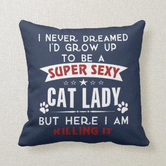 Katzendame Kissen