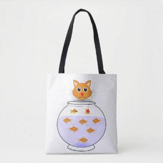 Katzenfisch-Taschentasche Tasche