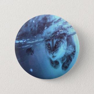 Katzenfische Runder Button 5,7 Cm