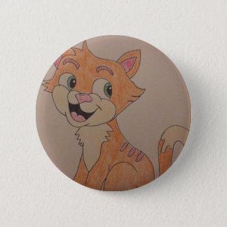 Katzenknopf Runder Button 5,1 Cm