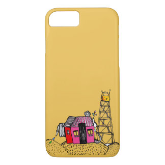 Katzenkratzer-Turm-Kasten iPhone 8/7 Hülle