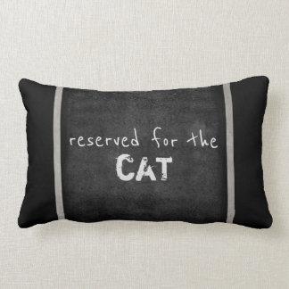 Katzenliebhaber zitieren Kissen-Spaßgrau und Lendenkissen