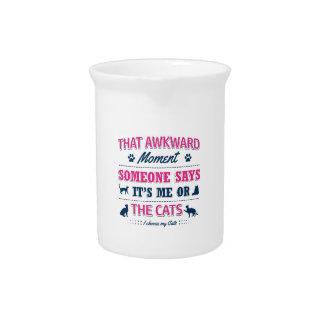 Katzenliebhabert-shirts Krug
