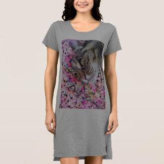 Katzenmeow-T - Shirtkleid Kleid