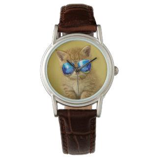 Katzensonnenbrillen - Katzen-Liebe - Haustier - Armbanduhr
