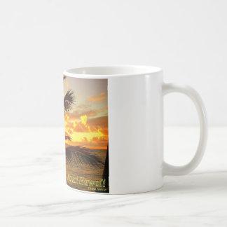 Kauai Hawaii an der Dämmerung Kaffeetasse