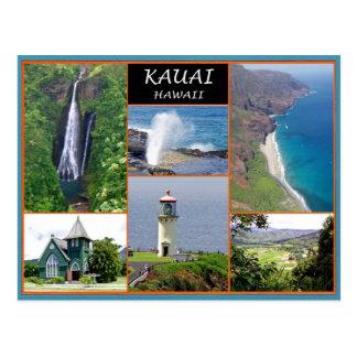 Kauai Hawaii Postkarte