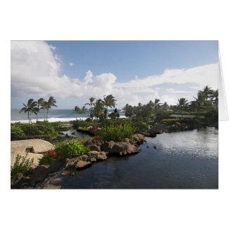 Kauai-Insel Karte