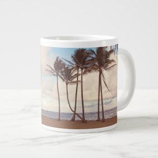 Kauai-Insel-Palmen-Kaffee-Tasse Jumbo-Tasse