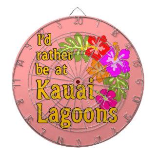 Kauai-Lagunen würde ich eher an Kauai-Lagune Hawai Dartscheiben
