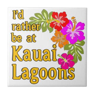 Kauai-Lagunen würde ich eher an Kauai-Lagune Hawai Fliese