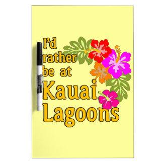 Kauai-Lagunen würde ich eher an Kauai-Lagune Hawai
