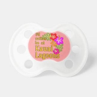 Kauai-Lagunen würde ich eher an Kauai-Lagune Hawai Baby Schnuller
