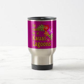 Kauai-Lagunen würde ich eher an Kauai-Lagune Hawai Teehaferl