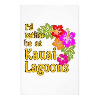 Kauai-Lagunen würde ich eher an Kauai-Lagune Personalisierte Druckpapiere
