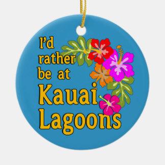 Kauai-Lagunen würde ich eher an Kauai-Lagune Rundes Keramik Ornament