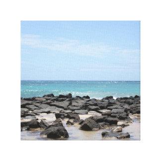 Kauai-Ozean-Ansicht-Leinwand-Druck Leinwanddruck