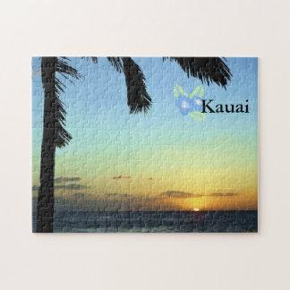 Kauai-Sonnenuntergang Puzzle