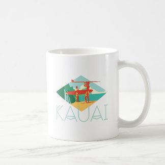 Kauai-Surfer Kaffeetasse