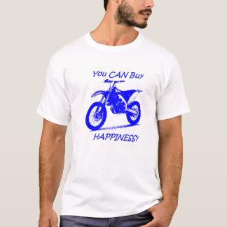 Kauf-Glück - Blau auf Weiß T-Shirt