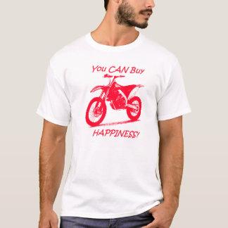 Kauf-Glück - Rot auf Weiß T-Shirt