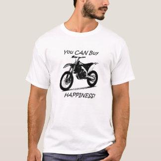 Kauf-Glück - Schwarzes auf Weiß T-Shirt