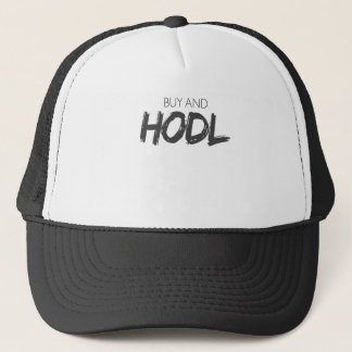 Kauf und Hodl Bitcoin Cryptocurrency Druck Truckerkappe