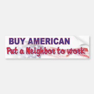 kaufen Sie Amerikaner 3 Autoaufkleber