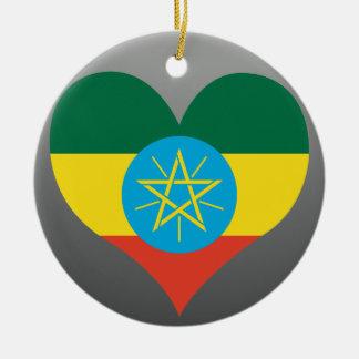 Kaufen Sie Äthiopien-Flagge Keramik Ornament