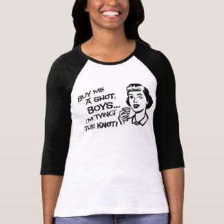 Kaufen Sie die Braut einen Schuss-Junggeselinnen-A T Shirt