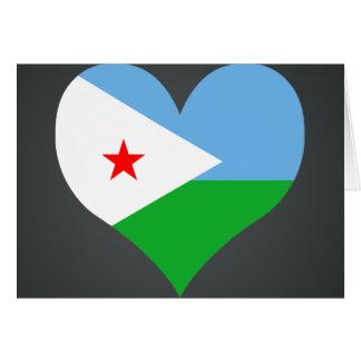 Kaufen Sie Dschibuti-Flagge Karte