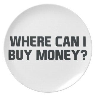 Kaufen Sie Geld Melaminteller