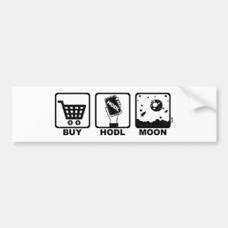 Kaufen Sie Hodl Mond Autoaufkleber