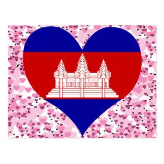 Kaufen Sie Kambodscha-Flagge Postkarte