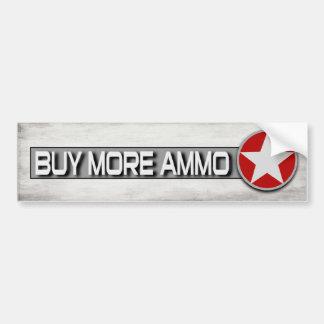 Kaufen Sie mehr Munition lustige 2. Änderung Autoaufkleber