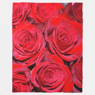 Kaufen Sie mich eine Rosen-Fleece-Decke Fleecedecke