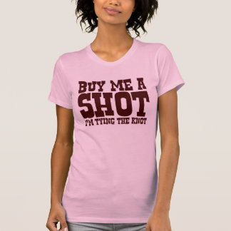 Kaufen Sie mich einen Schuss. Ich binde den Knoten T-shirt