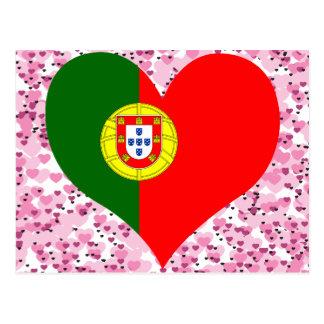 Kaufen Sie Portugal-Flagge Postkarte