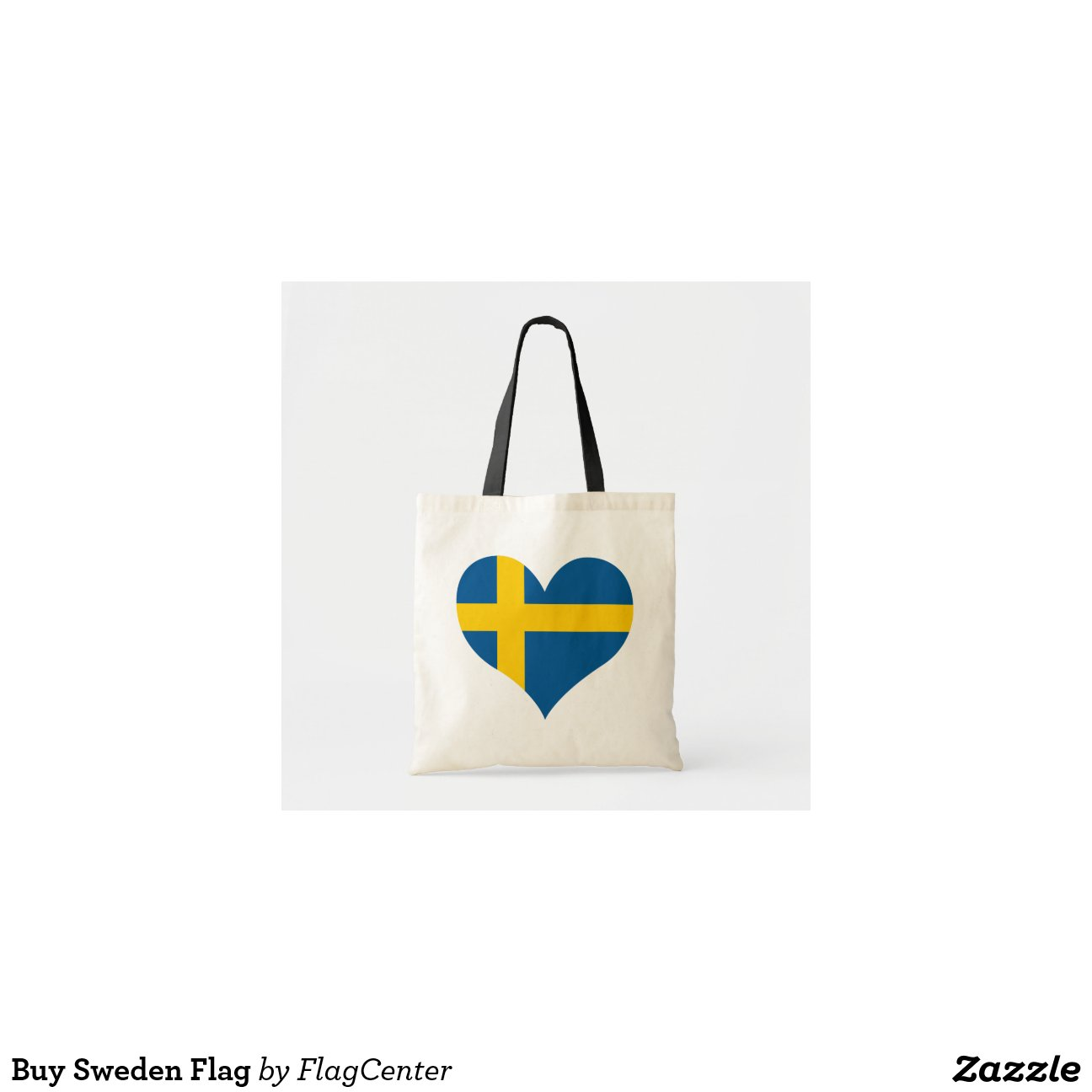 kaufen sie schweden flagge tragetasche zazzle. Black Bedroom Furniture Sets. Home Design Ideas