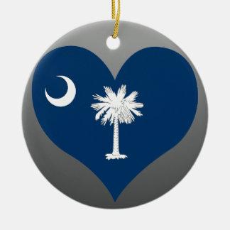 Kaufen Sie South- Carolinaflagge Keramik Ornament