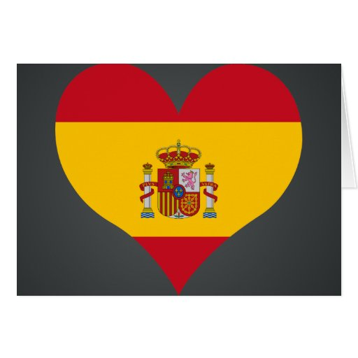 kaufen sie spanien flagge karten zazzle. Black Bedroom Furniture Sets. Home Design Ideas