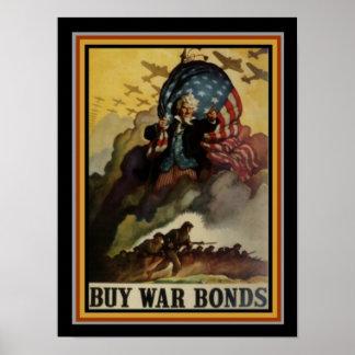 Kaufen Sie US-Kriegs-Bondplakat 12 x 16 Poster