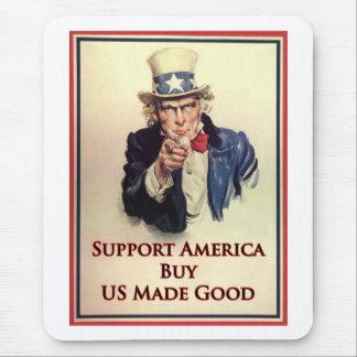 Kaufen Sie US-Waren-Uncle Sam Plakat Mauspad
