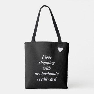 Kaufenschablone der Liebe I Tasche