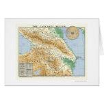 Kaukasus-Regions-Karte 1994