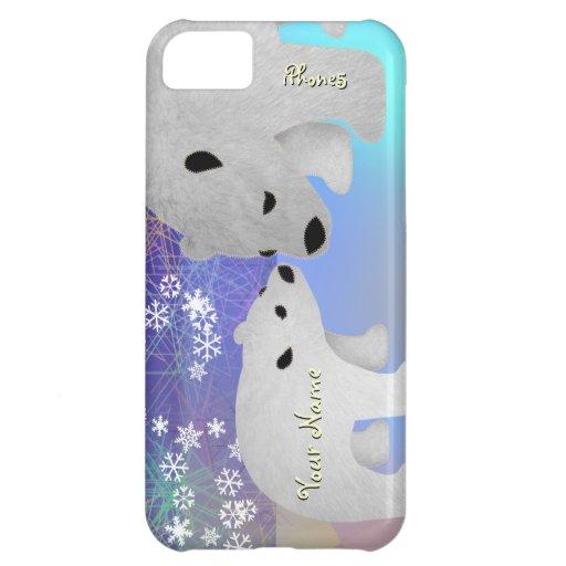 Kaum dort Eisbären iPhone 5C Cover
