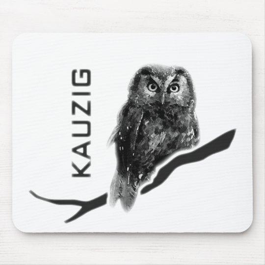 Kauz Eule Uhu käuzchen owl bird kauzig Mauspads